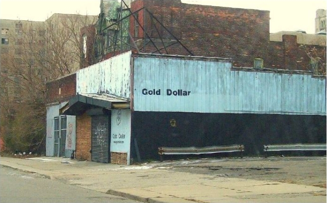 The Gold Dollar, where I met O and spent lots of quality time at the turn of the millenium, near the intersection of Temple & Cass